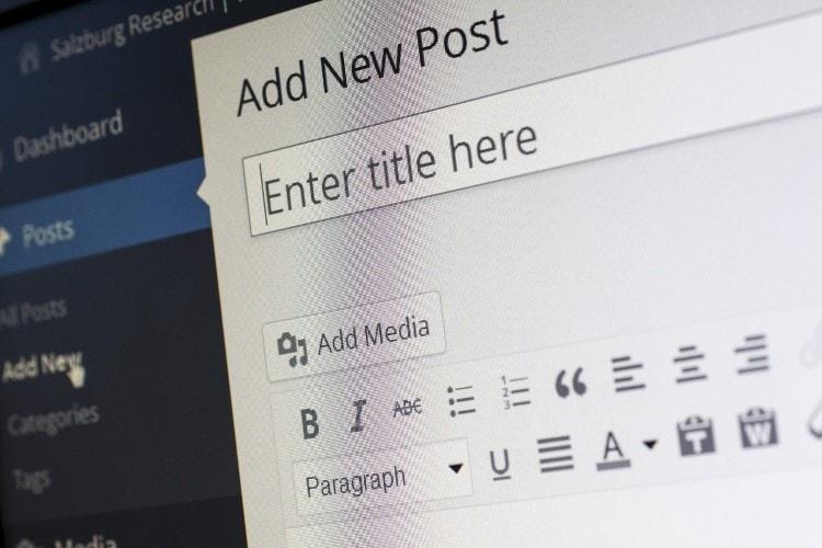 wordpress-editor-interface